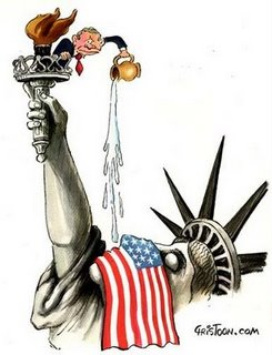 waterboarding lady liberty