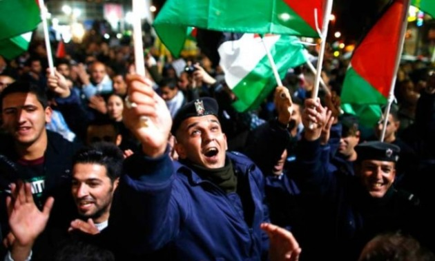palestinians-celebrate-the-uns-upgrade-on-thursday-of-the-palestinian-authoritys-status-to-non