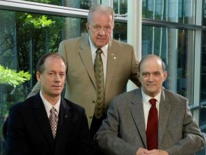 NSA whistle-blowers, from left, Thomas Drake, J. Kirk Wiebe and William Binney. (Photo: H. Darr Beiser, USA TODAY)