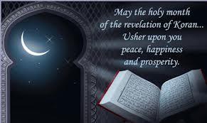 Ramadan Mubarak to the readers of Miscellany101