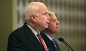 US senators John McCain and Lindsey Graham