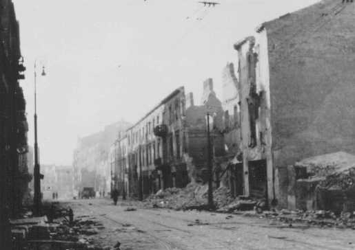 Warsaw ghetto, circa 1943