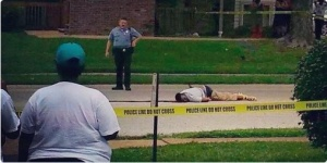 Mike Brown Slain 2