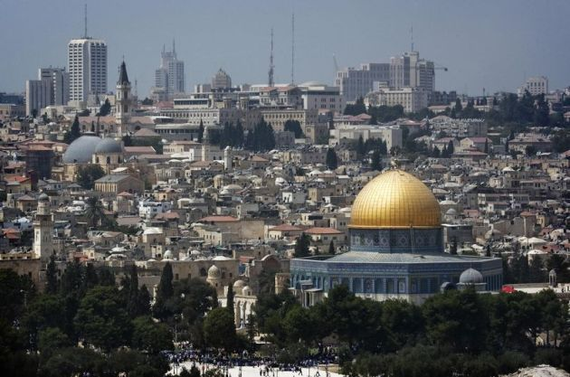 The Jerusalem skyline (MARCO LONGARI/AFP/Getty)