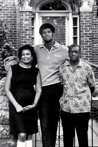 Abdul Jabbar's parents